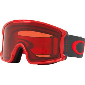 Oakley Line Miner - Lunettes de protection - rouge/noir